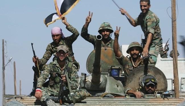 Quân đội Syria đang tiến từng bước vững chắc trên chiến trường dưới sự hậu thuẫn mạnh mẽ của Nga