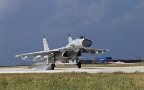 Trung Quốc đưa máy bay tiêm kích thế hệ mới ra Hoàng Sa