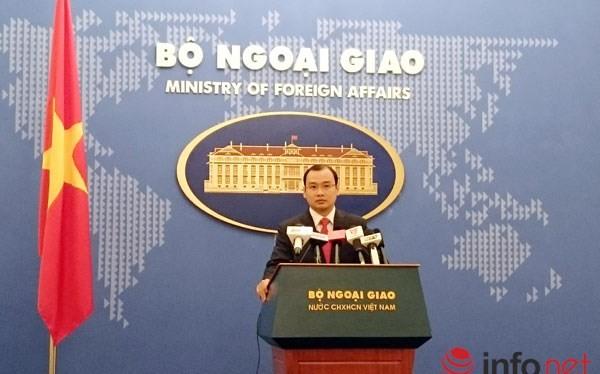 Ông Lê Hải Bình - Người phát ngôn Bộ Ngoại giao Việt Nam.
