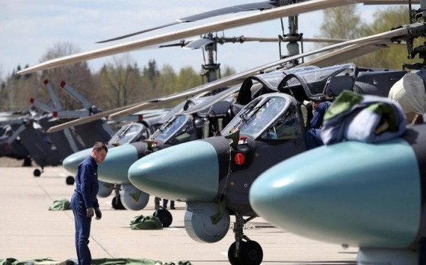 Trực thăng Ka-52K