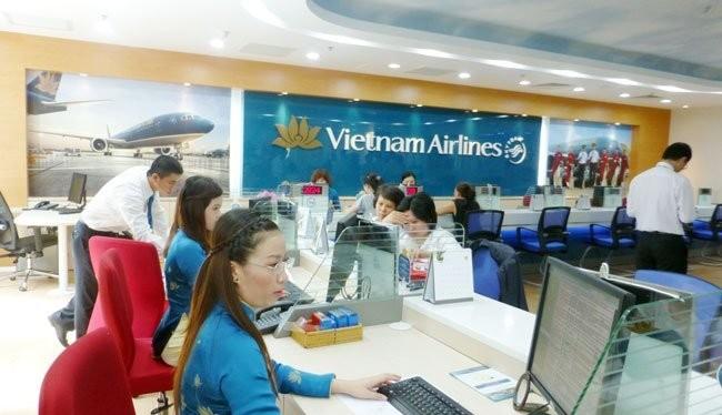 Số DNNN hoàn tât quá trình CPH đúng kế hoạch 2012-2014 như Vietnam Airlines là rất ít. Ảnh:TL