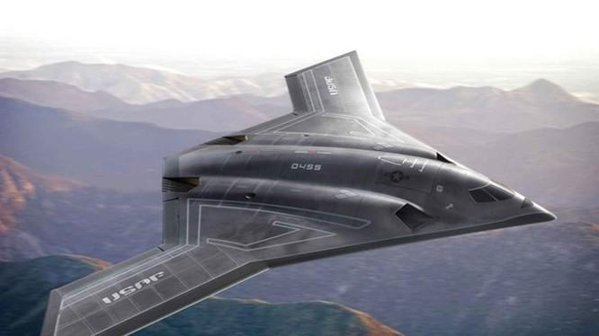 Mẫu máy bay ném bom tàng hình tầm xa LRS-B của Northrop Grumman. Loại máy bay này phải chăng đang tồn tại và bay trinh sát châu Á? – Nguồn: Northrop Grumman
