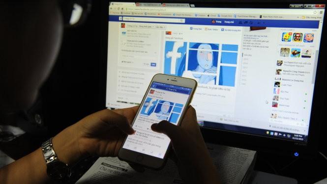 """Cộng đồng mạng xã hội xôn xao với tin """"chê chủ tịch UBND tỉnh trên Facebook, bị phạt tiền và kỷ luật"""" - Ảnh: T.Tr."""
