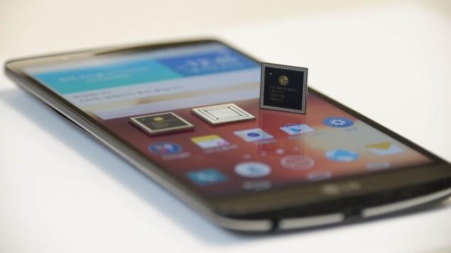 Hiệu năng chip Nuclun 2 của LG vượt qua cả Exynos 7420