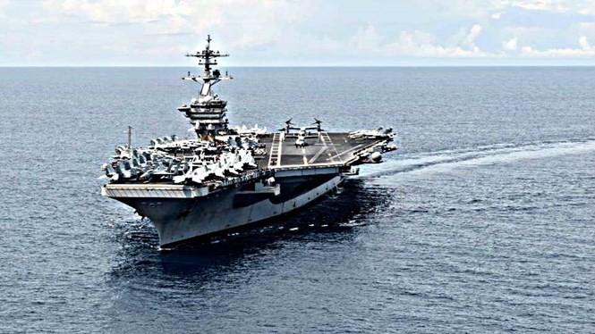 Trung Quốc nói Mỹ hãy tránh xa Biển Đông - Ảnh: AFP
