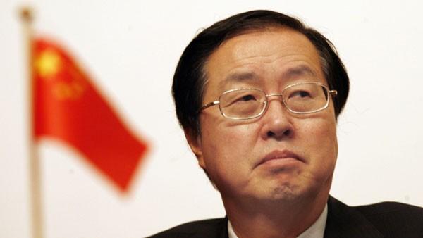 Ông Zhou Xiaochuan (Chu Tiểu Xuyên), thống đốc Ngân hàng Nhân dân TQ (PBOC).