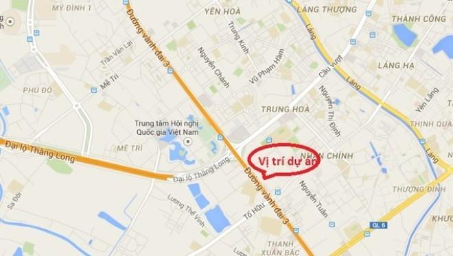 Công bố quy hoạch KĐT Đông Nam đường Trần Duy Hưng của Vingroup