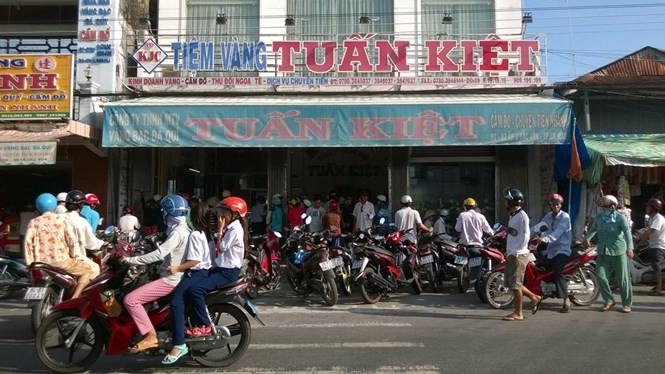Tiệm vàng Tuấn Kiệt - Ảnh: Công Khanh