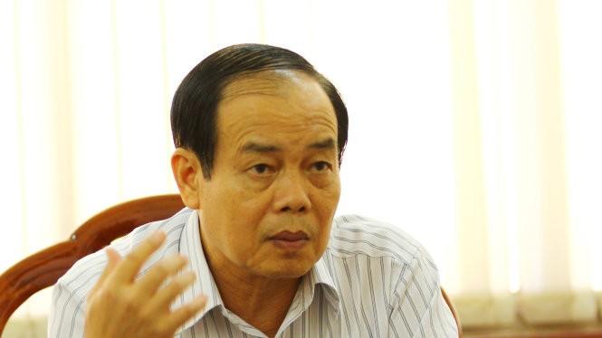 """Ông Vương Bình Thạnh nói: """"Quan điểm của tôi trong vụ việc này là sẵn sàng tha thứ cho các cá nhân vì họ đã thấy được lỗi của mình"""" - Ảnh: Chí Quốc"""