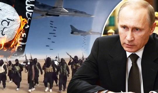 Chiến dịch không kích kiên quyết của Tổng thống Nga Vladimir Putin đã gây tiêu hao đáng kể lực lượng của IS. Ảnh: Reuters