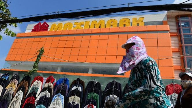 Hệ thống siêu thị Maximark vừa được bán lại cho Tập đoàn Vingroup. Trong ảnh: một siêu thị Maximark trên đường Phan Văn Trị, Q.Gò Vấp, TP.HCM - Ảnh: Thanh Tùng