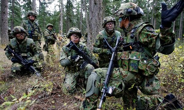 Nhật điều bộ binh bảo vệ đảo, đề phòng Trung Quốc xâm chiếm