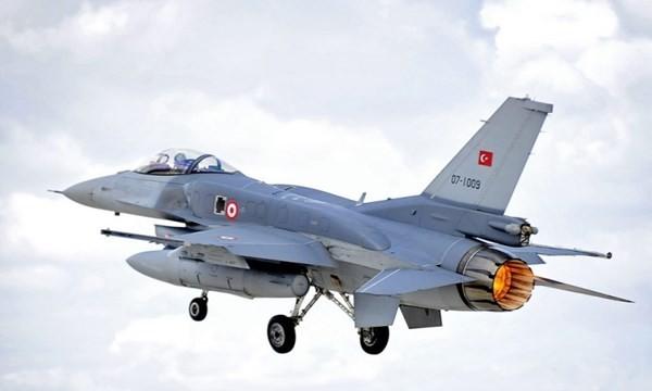 F-16 của thổ Nhĩ Kỳ