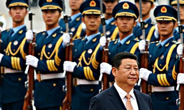 Chủ tịch Trung Quốc Tập Cận Bình muốn quân đội tập trung chiến đấu và bảo vệ an ninh quốc phòng - Ảnh: Reuters