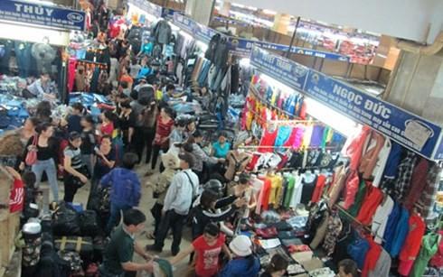 Ki ốt kinh doanh trong chợ Đồng Xuân
