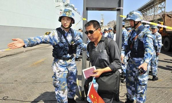 Lính TQ giải cứu công dân TQ ở Yemen