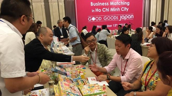 Doanh nghiệp Nhật Bản đến VN tìm cơ hội mở rộng kinh doanh khá nhộn nhịp thời gian gần đây - Ảnh: N.Bình