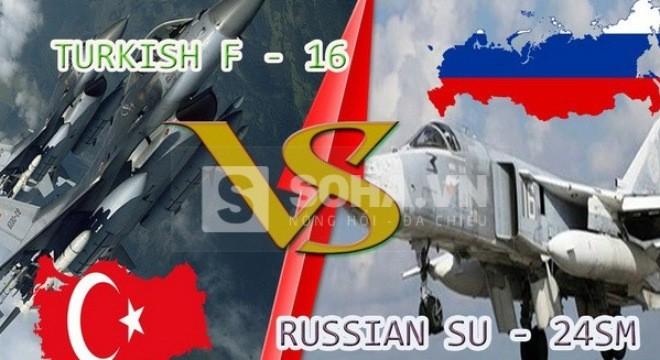 F-16 Thổ Nhĩ Kỳ đã phục kích để bắn Su-24M của Nga như thế nào?