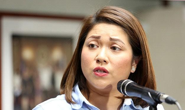 Bà Abigail Valte cho biết chính phủ Philippines đang rất tự tin trong vụ kiện Trung Quốc - Ảnh: Inquirer