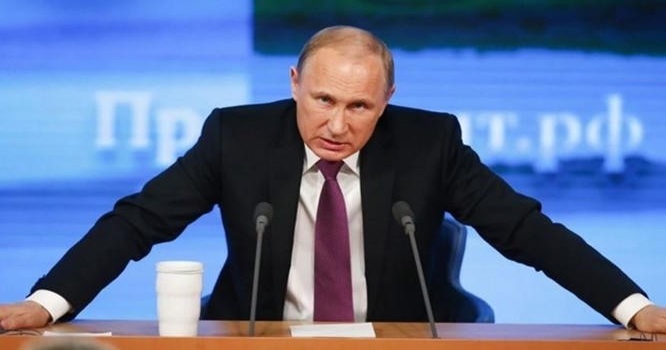 Ông Putin cũng nhắc lại quan điểm cho rằng không lực Thổ Nhĩ Kỳ không nhất thiết phải bắn rơi chiếc máy bay Nga. Ảnh: RT
