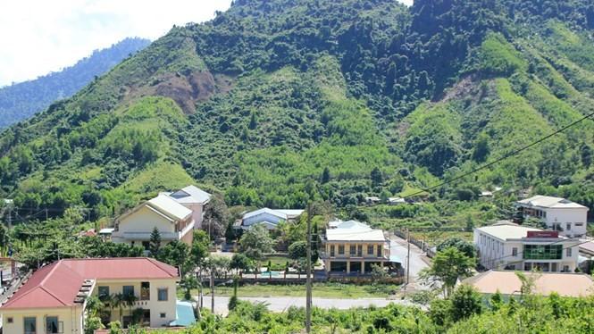 Huyện miền núi Nam Giang khẳng định sẽ sử dụng hiệu quả các trụ sở cũ tại Bến Giằng - Ảnh: Hoàng Sơn