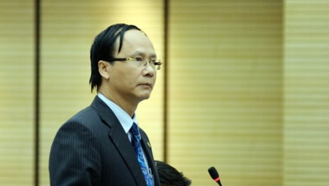 Trưởng Ban Pháp chế HĐND TP Hà Nội Nguyễn Hoài Nam. Ảnh: VNN