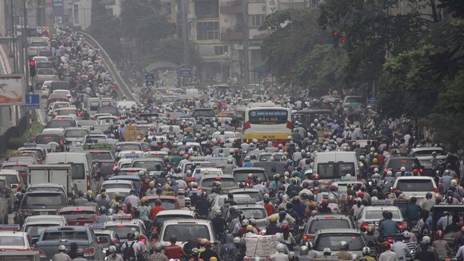 Quản lý quy hoạch kém đang gây áp lực lớn cho giao thông đô thị Hà Nội