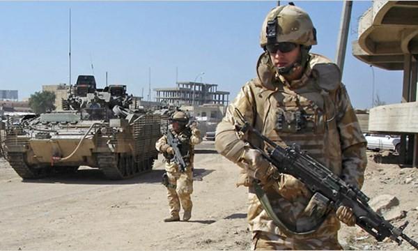 Binh sĩ Anh làm nhiệm vụ tại Iraq