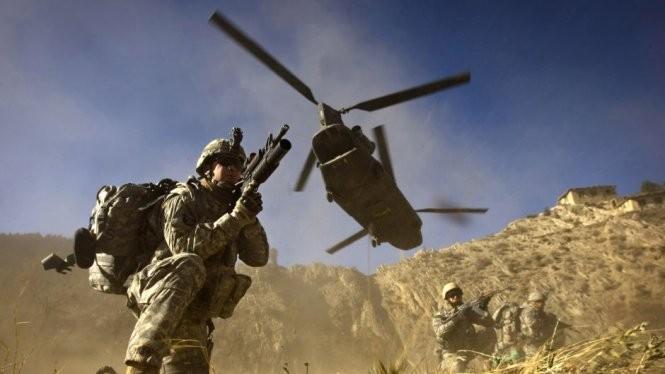 Đặc nhiệm Mỹ tại Iraq - Ảnh: AFP