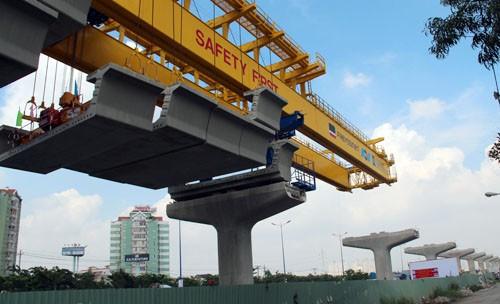 Công ty TNHH MTV Đường sắt đô thị số 1 TP HCM có nhiệm vụ quản lý vận hành khai thác tuyến metro số 1 (Bến Thành - Suối Tiên). Ảnh: Hữu Công