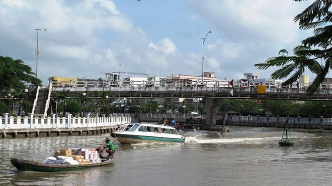Một góc thành phố Cà Mau.