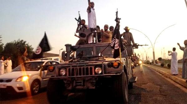 Một nhóm chiến binh IS. (Ảnh: AP)