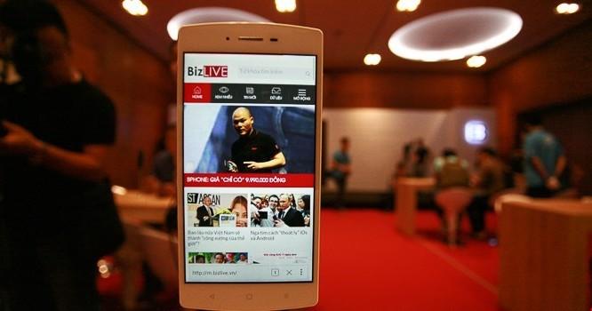 Bphone là smartphone được giới thiệu tháng 5/2015.