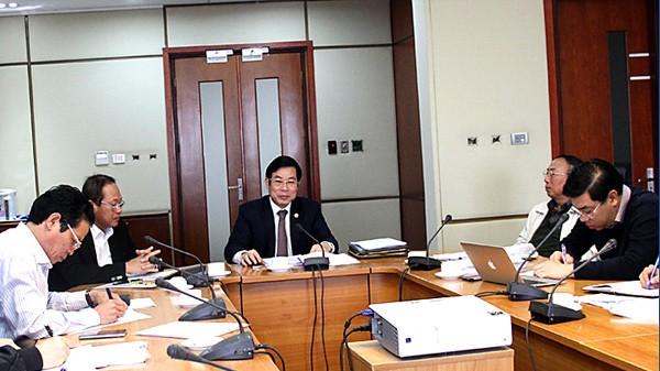 Bộ trưởng Bộ TT&TT Nguyễn Bắc Son chủ trì buổi làm việc và nghe báo cáo về quá trình, tiến độ và nội dung Quy hoạch phát triển báo chí và quản lý báo chí toàn quốc đến năm 2025.
