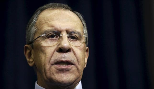 Ngoại trưởng Nga Sergei Lavrov. (Nguồn: Reuters)