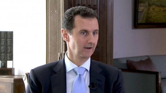 Tổng thống Syria Bashar al-Assad tuyên bố không đàm phán với các nhóm đối lập ở Syria - Ảnh:Reuters