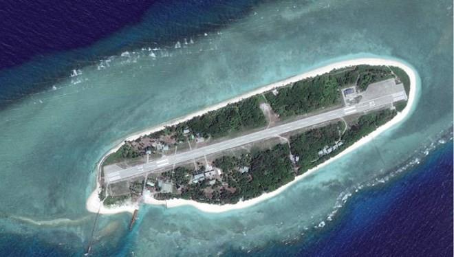 Đảo Ba Bình thuộc quần đảo Trường Sa của Việt Nam. (Nguồn: scmp.com)