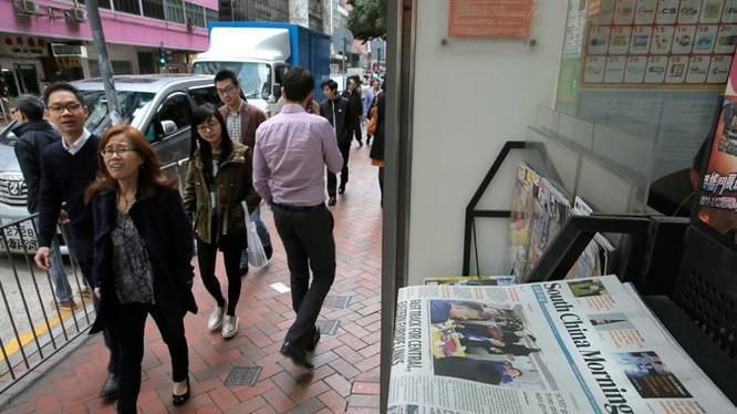 Mua lại tờ báo The South China Morning Post có tuổi đời 112 năm, tập đoàn Alibaba có tham vọng cải thiện hình ảnh của Trung Quốc trên báo chí? Ảnh NYT