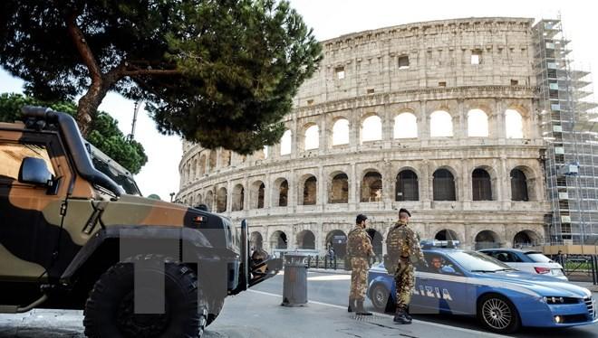 Binh sỹ Italy. (Nguồn: AFP/TTXVN)