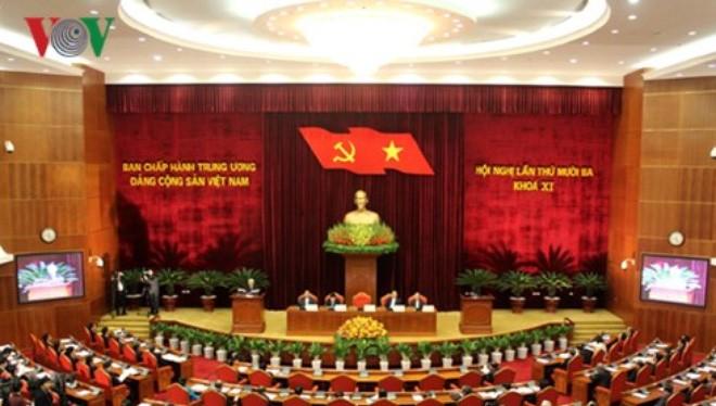 Khai mạc Hội nghị Trung ương lần thứ 13, khóa XI vào ngày 14/12/2015 (Ảnh: Vũ Duy)