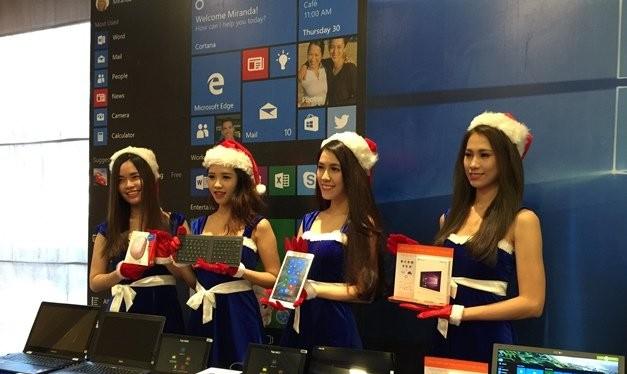 Các thiết bị sử dụng hệ điều hành Windows 10 ngày càng đa dạng về mẫu mã với sự tham gia của nhiều nhà sản xuất - Ảnh: Chí Thịnh
