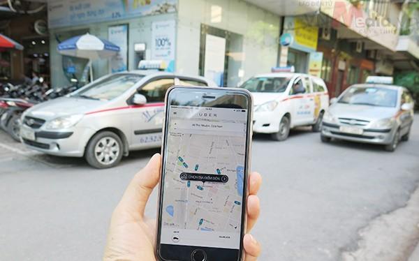 Uber có tốc độ phát triển chóng mặt tại Việt Nam nói chung và Hà Nội nói riêng