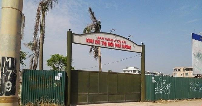 Dự án KĐT Phú Lương đã nộp hết nợ thuế đất sau khi Cục Thuế công bố.