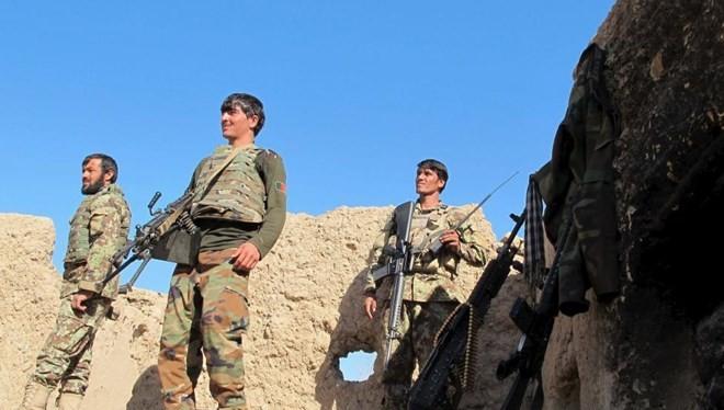 Quân đội Afghanistan ở tỉnh Helmand. (Nguồn: Reuters)