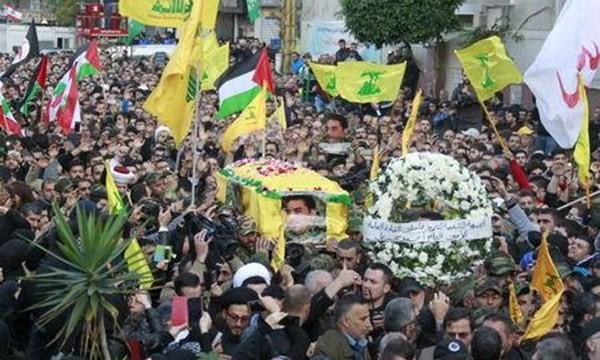 Đám tang của Samir Qantar tại Beirut ngày 21.12
