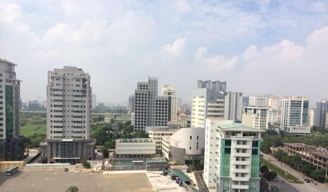 Theo Hiệp hội Bất động sản Việt Nam, giá chung cư tăng khoảng 1-3%. (Ảnh: Minh Thư)