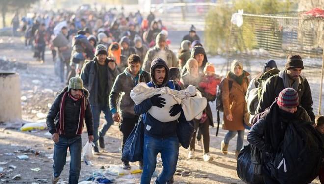 Hơn 1 triệu người di cư, tị nạn đã đến châu Âu trong năm 2015