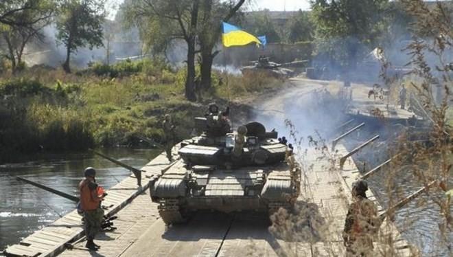 Lực lượng quân đội Ukraine. (Nguồn: Reuters)