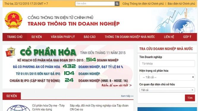 Chuyên trang thông tin doanh nghiệp IPO cần có thêm phiên bản tiếng Anh