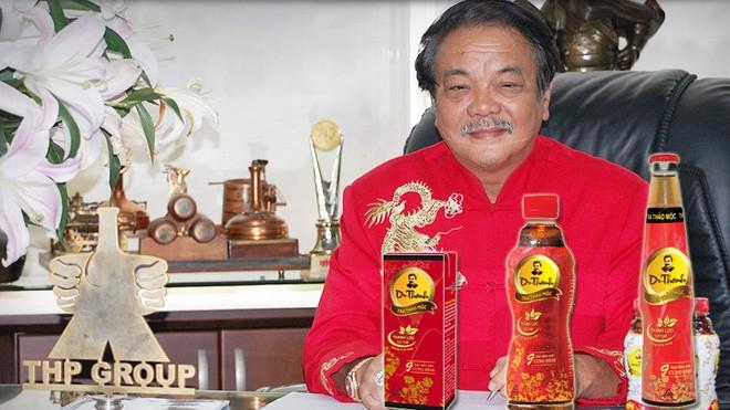 Ông Trần Quí Thanh là doanh nhân Việt hiếm hoi dùng hình ảnh của cá nhân làm thương hiệu sản phẩm.
